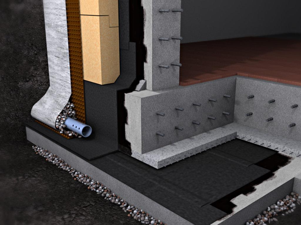 Строительные работы: Гидроизоляция фундамента в А-профиль, капитальный ремонт и строительство