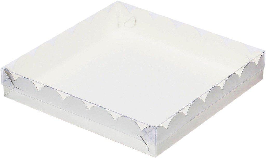 Коробки для пряников и печенья: Коробка 155х155х35мм для пряников (СЕРЕБРО) в ТортExpress