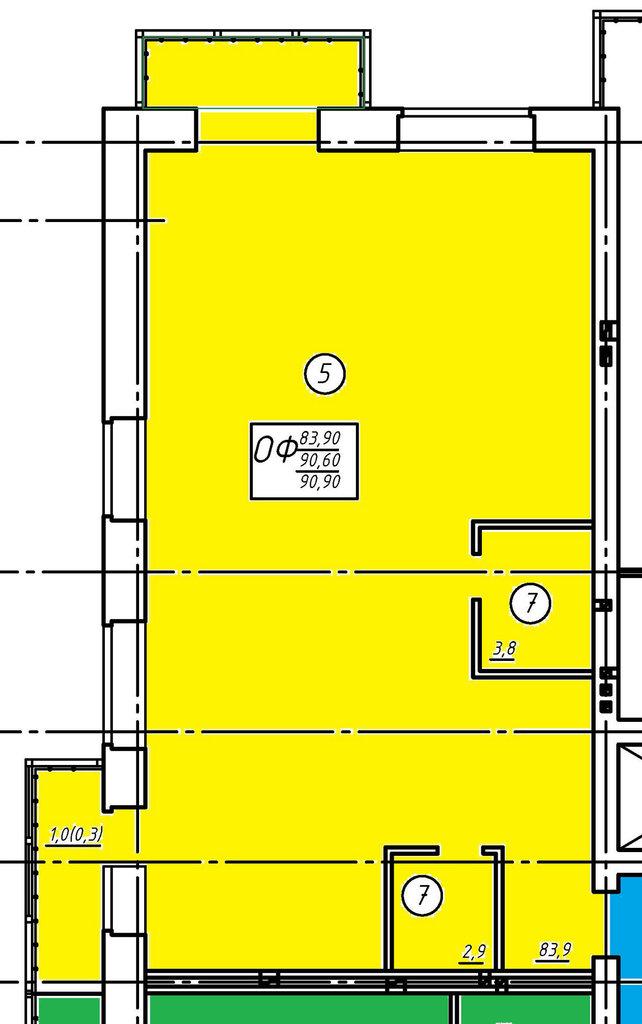 Второй этаж: Нежилое помещение 3 в Социум, ООО
