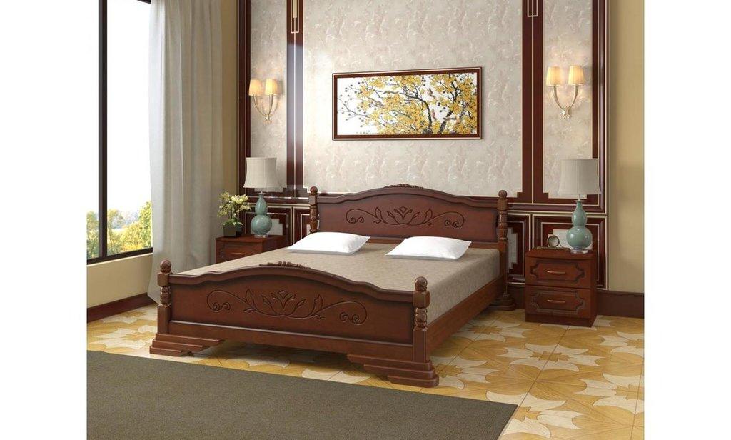 Кровати: Кровать Карина-3 (массив) в Уютный дом