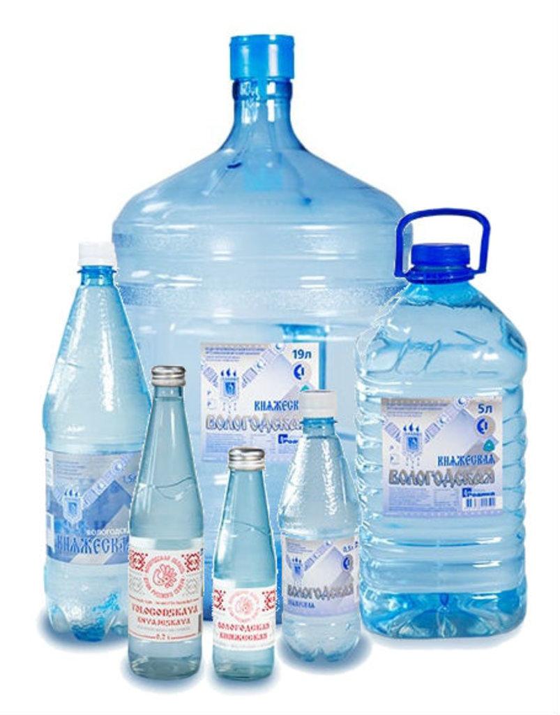 Вода питьевая: Вода питьевая высшей категории «Вологодская Княжеская» в Вологодская вода, ООО Родина