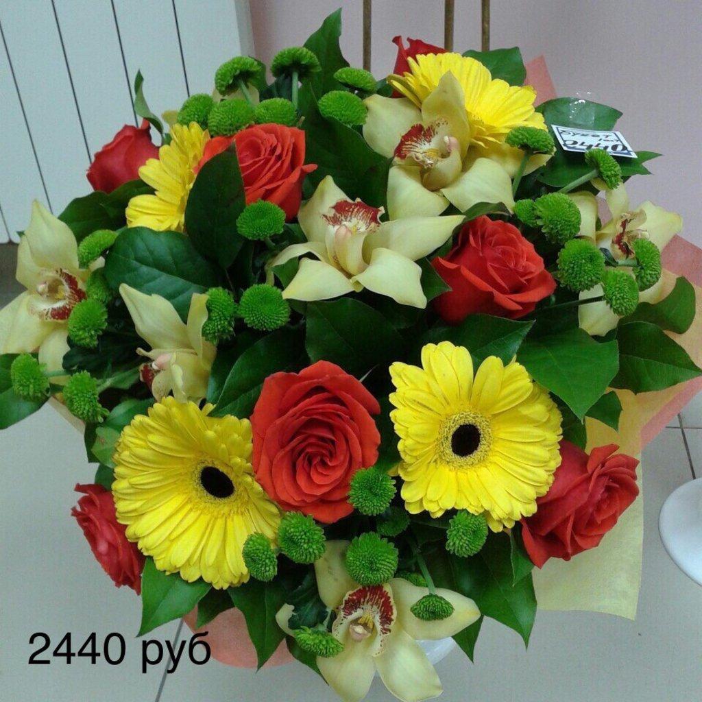 Букеты: Букет с орхидеями в Николь, магазины цветов