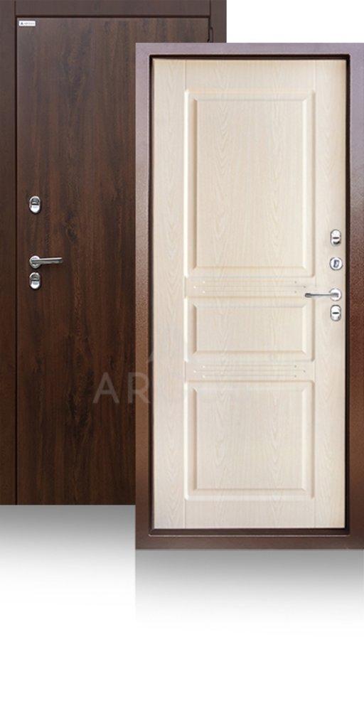 Входные двери в Тюмени: Входная уличная дверь с терморазрывом ТЕПЛО-5 (2 полотна) | Аргус в Двери в Тюмени, межкомнатные двери, входные двери