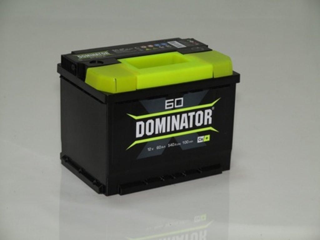 Аккумуляторы автомобильные: DOMINATOR 60 А/Ч R в Мир аккумуляторов