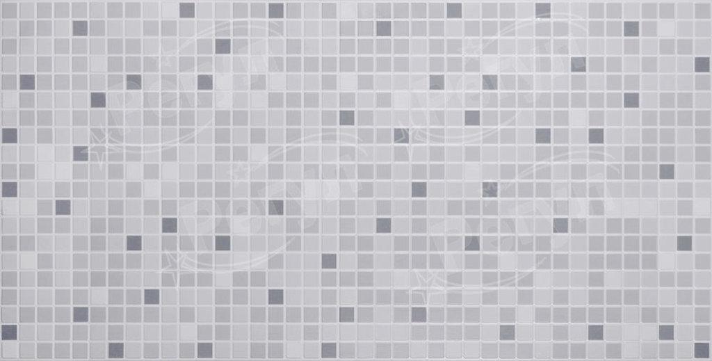 Панели ПВХ: Мозаика Серый микс в Мир Потолков