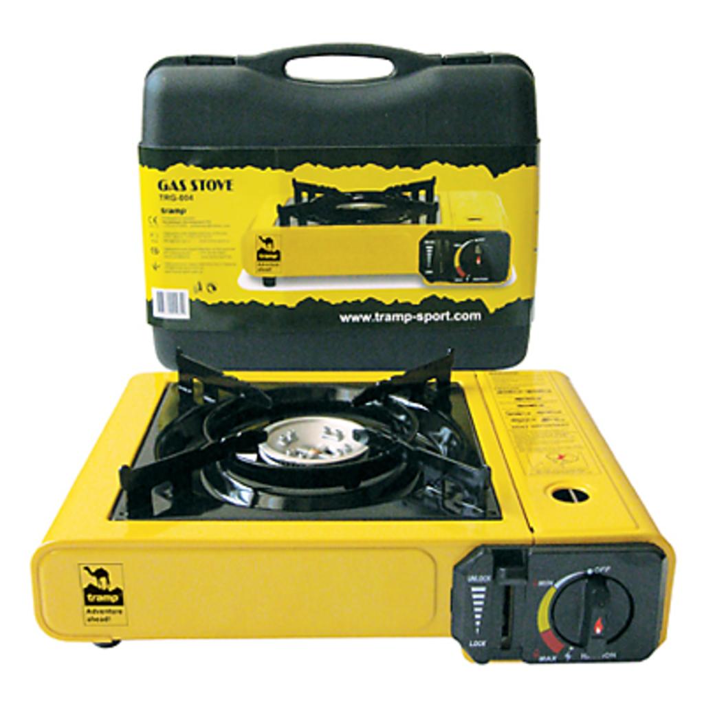 Газовое оборудование: Tramp портативная плита одноконфорочная с пьезоподжигом TRG-004 в Турин