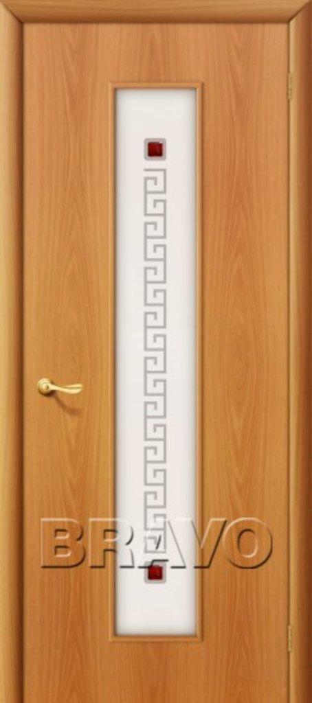 Двери ламинированные BRAVO: 21Х Л-12 (МиланОрех) в STEKLOMASTER