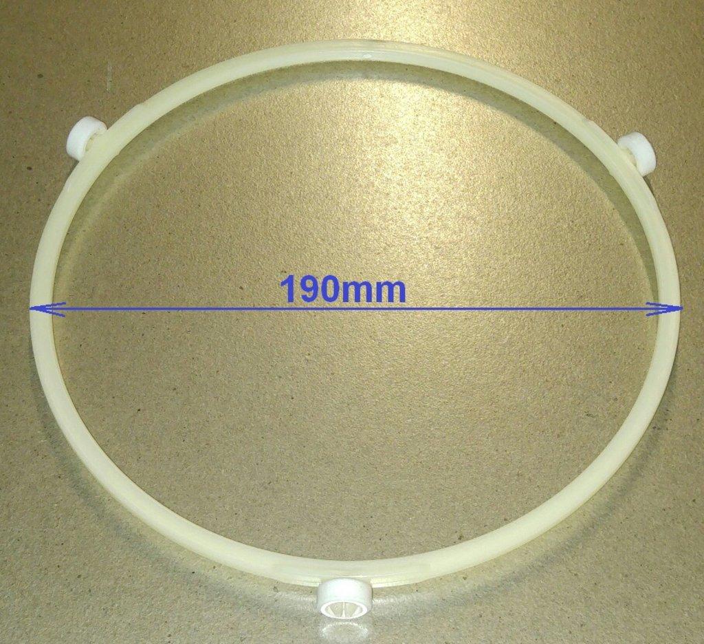 Запчасти для микроволновых СВЧ-печей: СВЧ Кольцо тарелки D=190 d колес=14mm, MA08W01, 49003689, 49003803, 49003738, KV190UN, MCW912UN в АНС ПРОЕКТ, ООО, Сервисный центр
