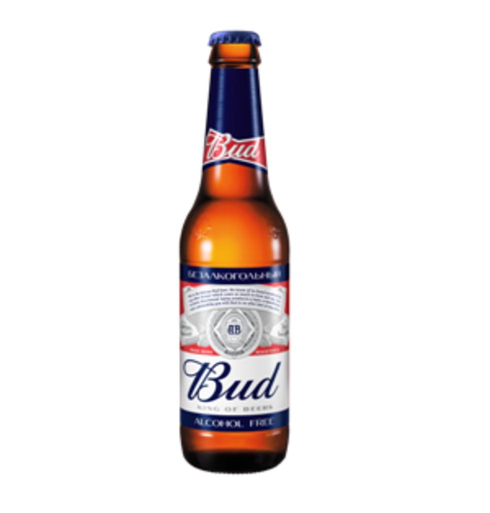 Холодные напитки: Пиво Бад б/а 0,33 в Tesla Burger Тюмень