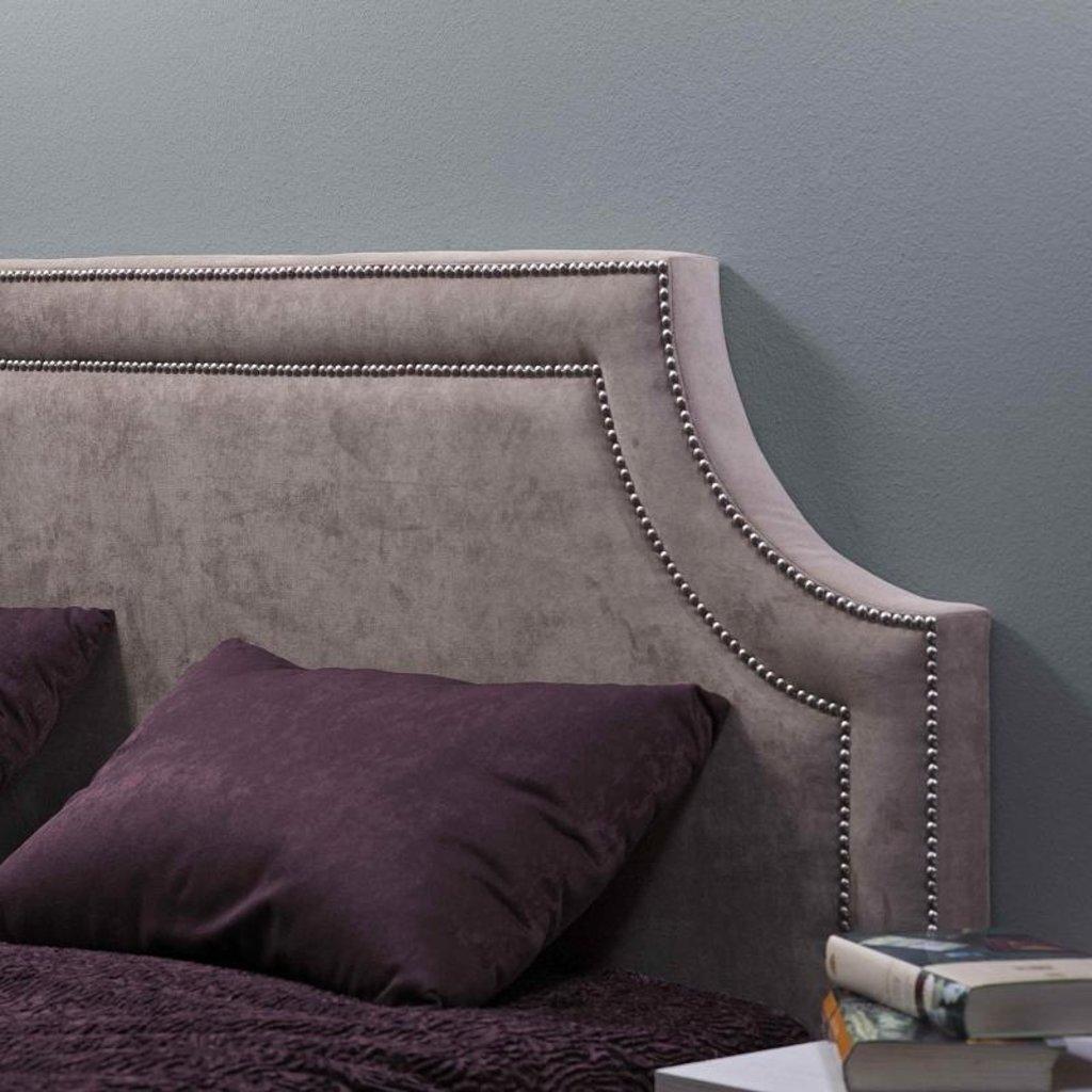 Кровати: Кровать Люкс (1400) Металл Карина 308 в Стильная мебель
