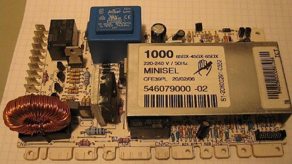 Электронные блоки управления: Электронный модуль управления для стиральных машин Ардо (Ardo) любых моделей на платформе minisel в АНС ПРОЕКТ, ООО, Сервисный центр