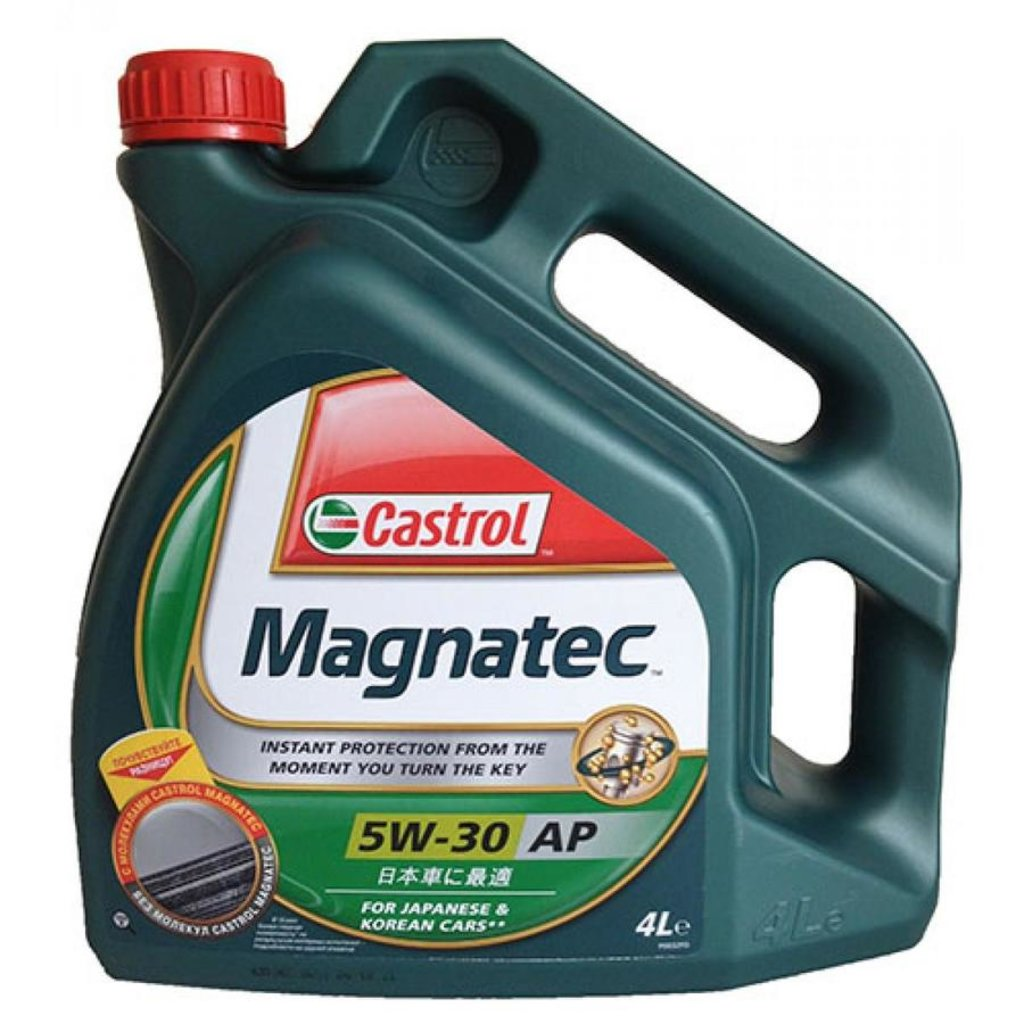 Автомасла Castrol: CASTROL MAGNATEC 5W-30 AP (4.0 л) в Автомасла71