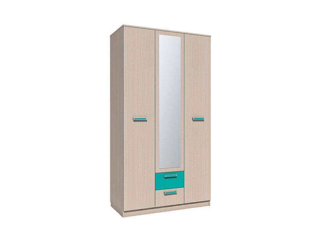 Детские шкафы и стеллажи: Шкаф комбинированный НМ 013.08-01 Рико в Стильная мебель