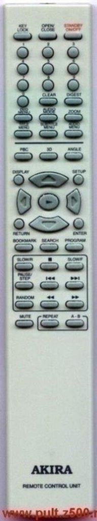 AKIRA: Пульт AKIRA T-205(DVD)аналог IRC в A-Центр Пульты ДУ