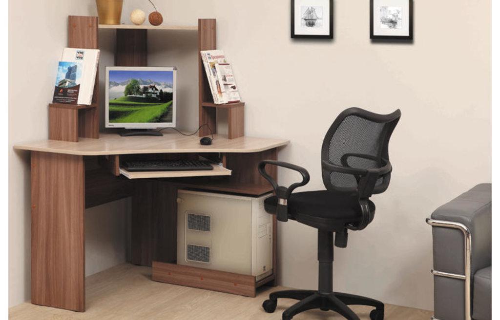 Компьютерные столы: Стол компьютерный  ПКС-7 (Олмеко) в Стильная мебель