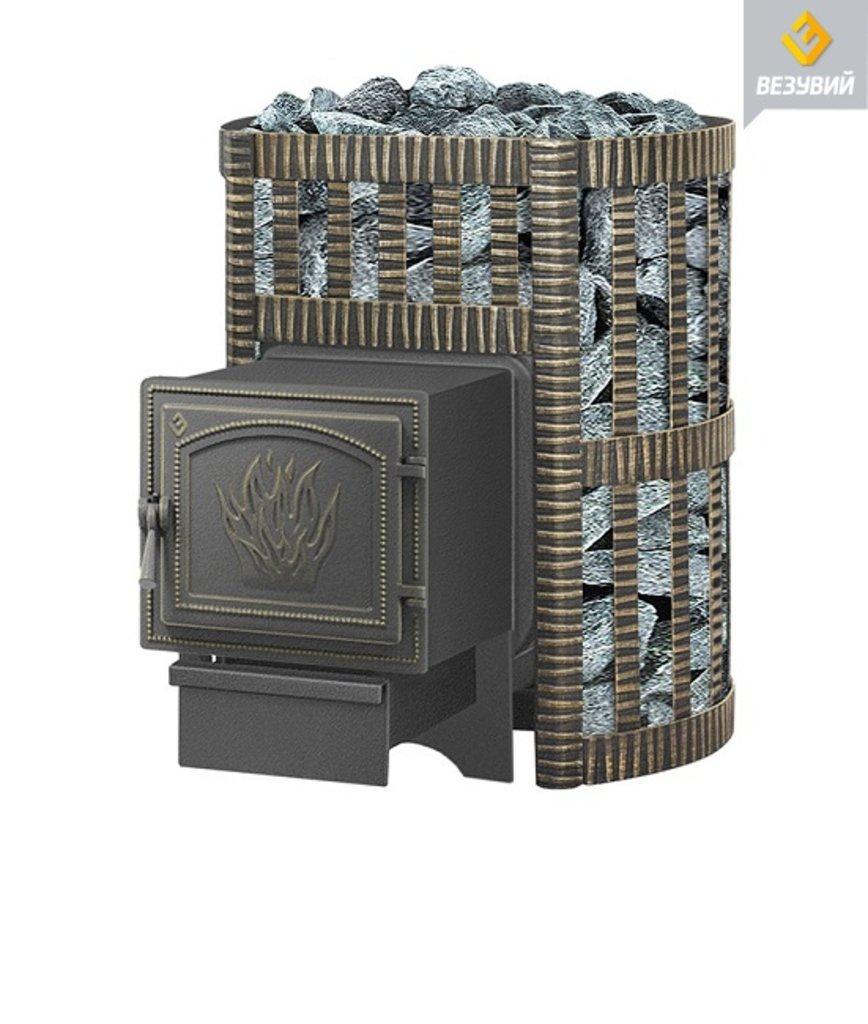 Легенда: Везувий Легенда Ковка 12 (261) чугунная банная печь в Антиль