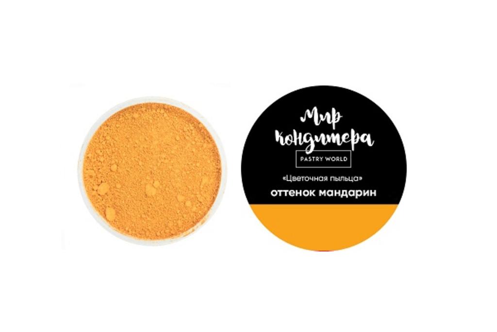 Ингредиенты: Цветочная пыльца, оттенок мандарин в ТортExpress