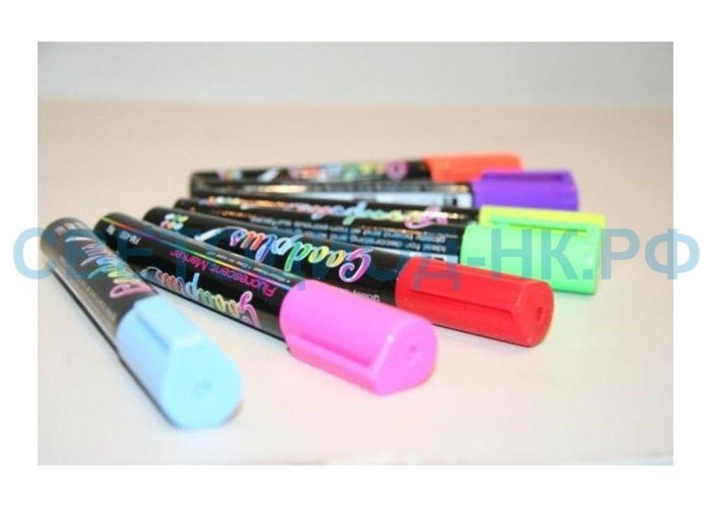Маркерные светодиодные доски: Маркерная LED доска - набор флуоресцентных маркеров FM-450 в СВЕТОВОД