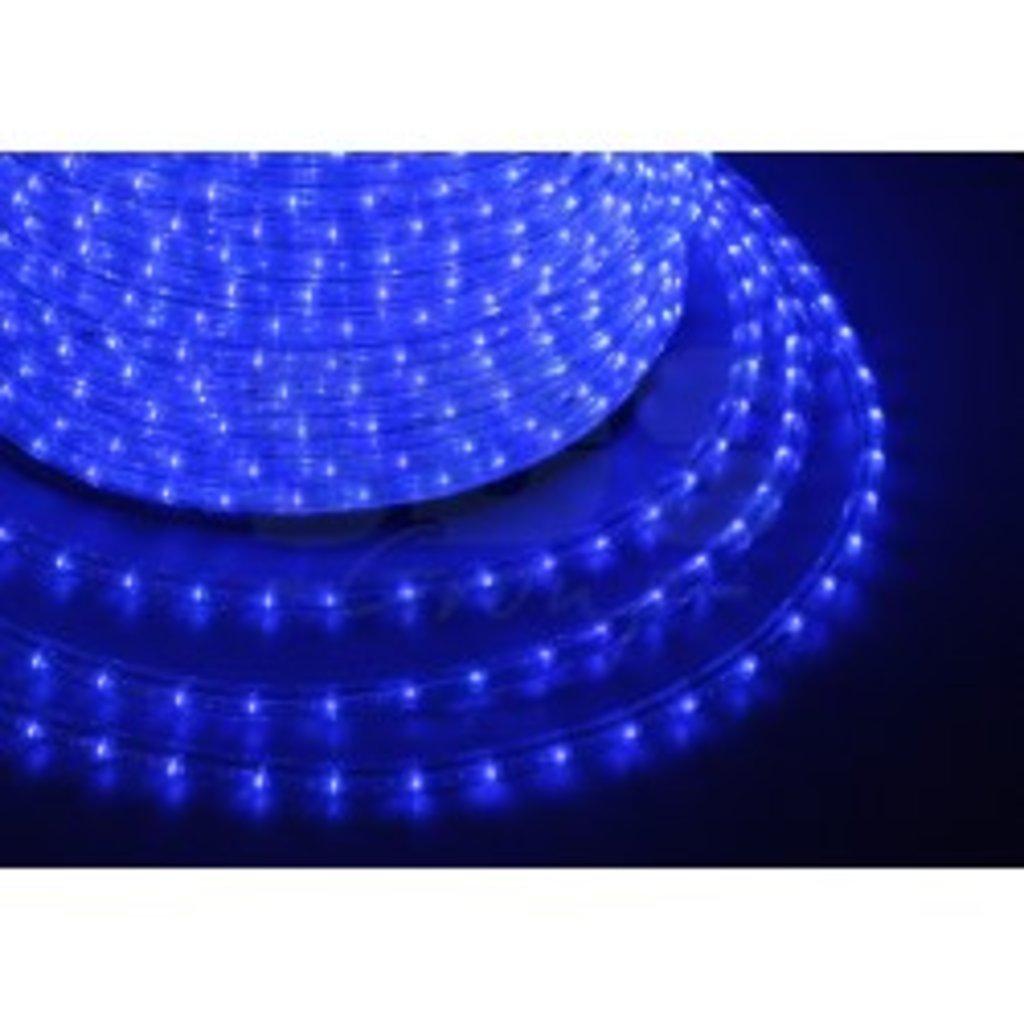 Дюралайт и комплектующие: Дюралайт LED СИНИЙ /3-х жильный/ (рез 2м) в СВЕТОВОД