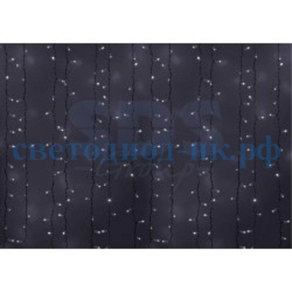 Светодиодный дождь: Гирлянда-дождь бел. нить 2х1,5м Flashing белый мерцающий в СВЕТОВОД