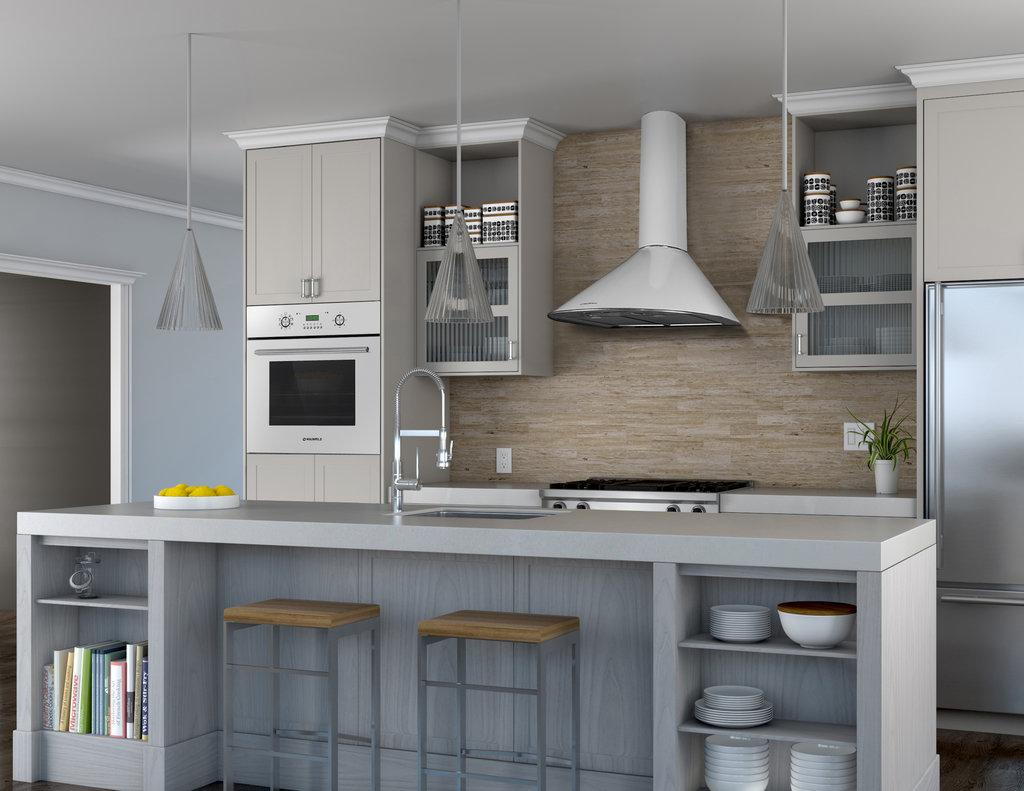 Вытяжки: Кухонная вытяжка в ВДМ, Все для мебели