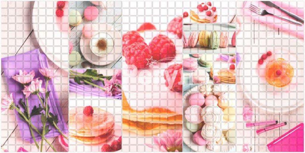 Панели ПВХ: Мозаика Завтрак в Мир Потолков