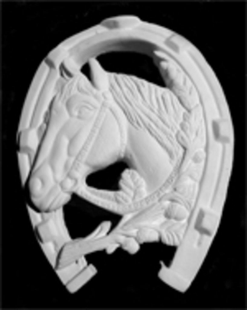 Гипсы: Основа для росписи Подкова Лошадь в Шедевр, художественный салон