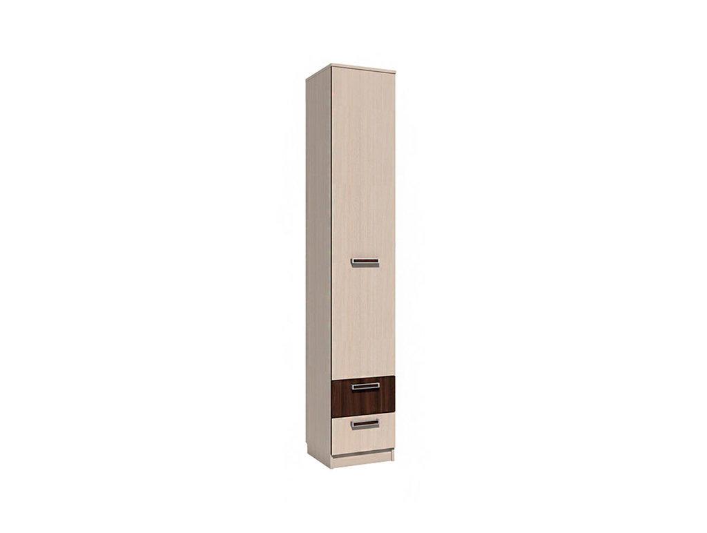 Детские шкафы и стеллажи: Шкаф для белья с ящиками НМ 013.01-02 Рико в Стильная мебель