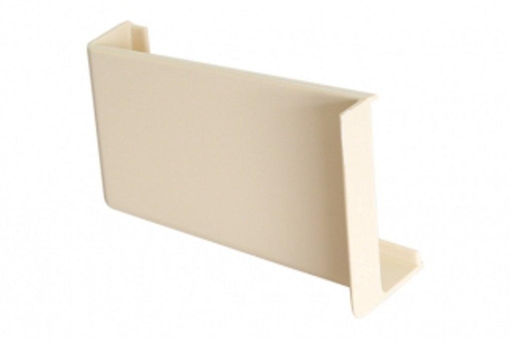 Подвеска полок: Крышечка декоративная для подвески арт.806 ваниль, левая в МебельСтрой