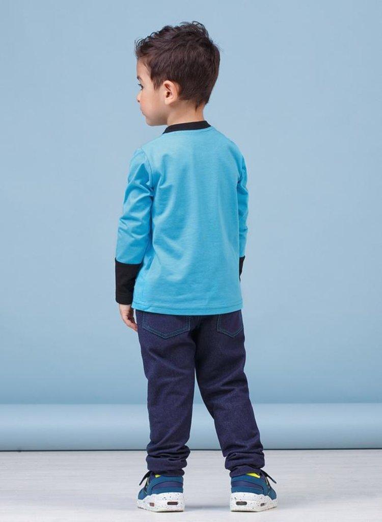 Одежда для мальчиков: Брюки для мальчика 28-8017-3 в Детский универмаг