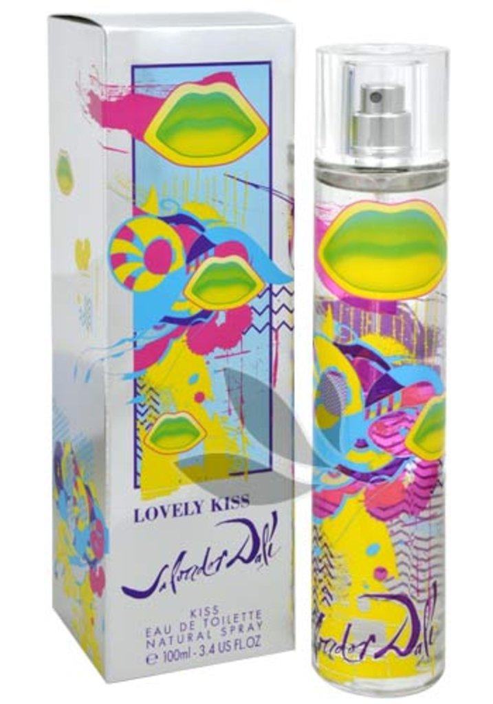 Salvador Dali: Salvador Dali Lovely Kiss Туалетная вода edt ж 100 ml тестер в Элит-парфюм