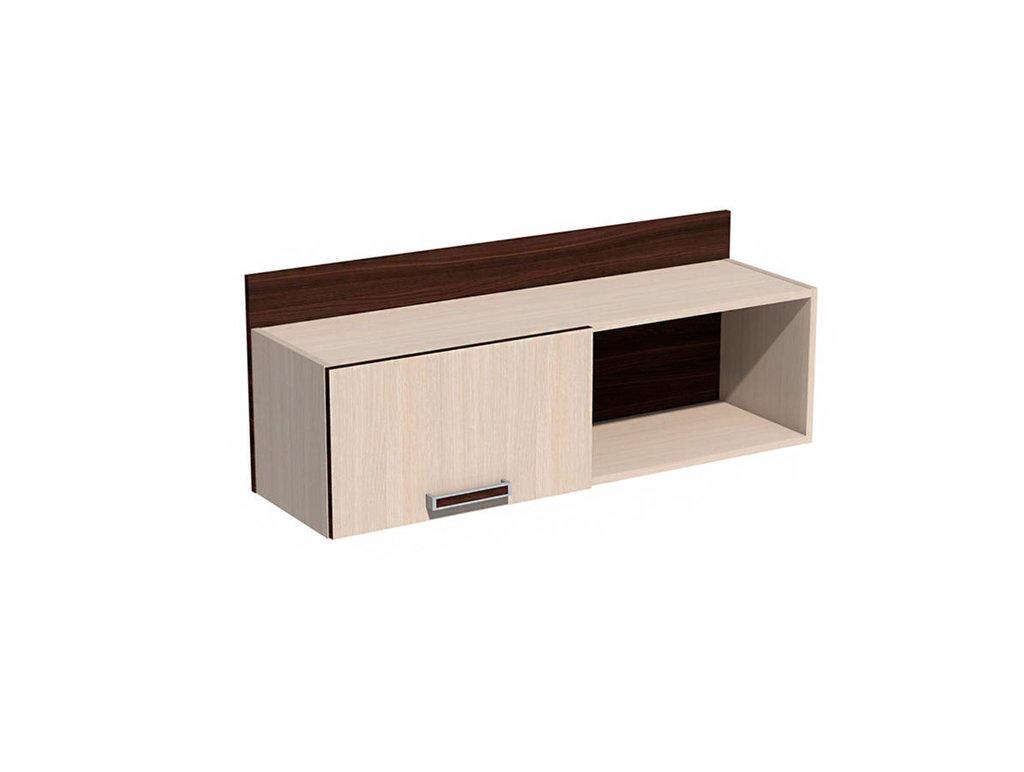 Полки детские: Полка с дверкой НМ 011.38 Рико в Стильная мебель