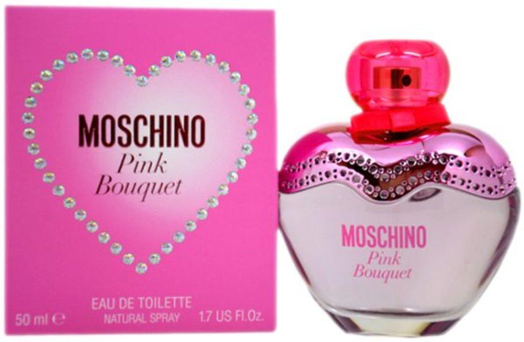 Женская туалетная вода Moschino: Moschino Pink Bouquet edt в Элит-парфюм