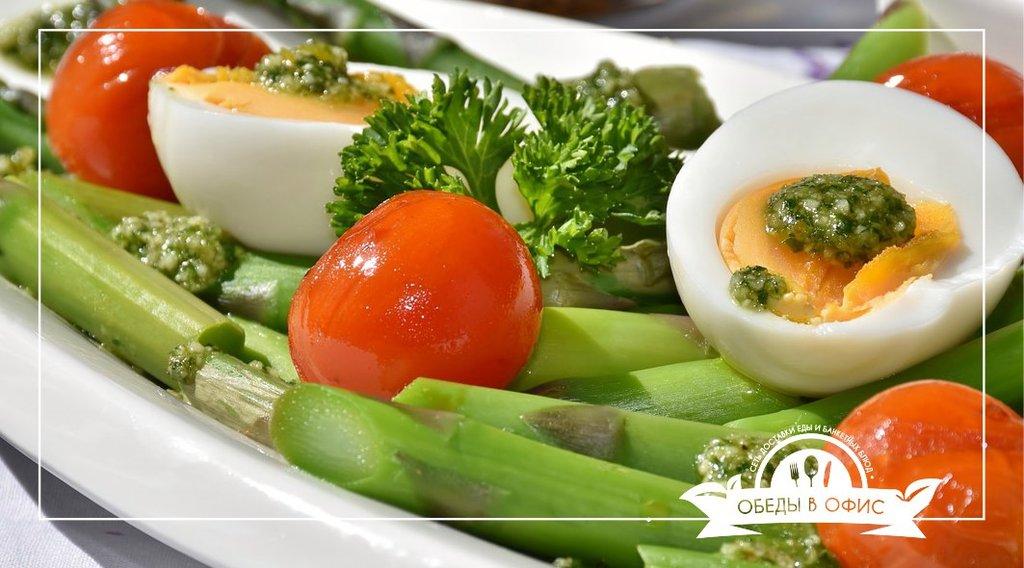 Холодные закуски: Овощная нарезка в Обеды в офис Красноярск
