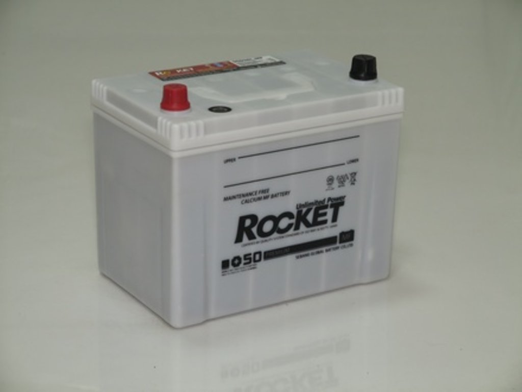 Аккумуляторы автомобильные: ROCKET MF SUPER +50 95 (115 D 31) R в Мир аккумуляторов