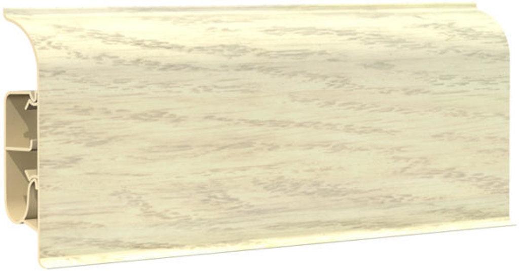 Плинтуса напольные: Плинтус напольный 85  8501 дуб беленый в Мир Потолков