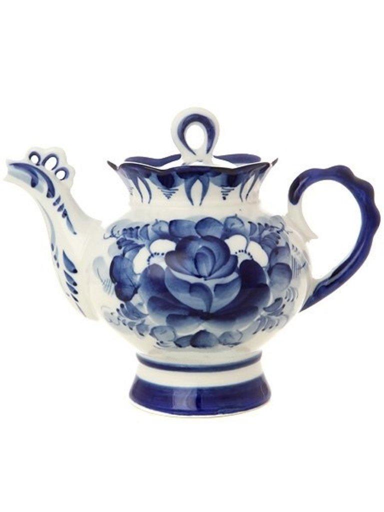 """Самовары: Чайник заварочный керамический """"Гжель"""" в Сельский магазин"""