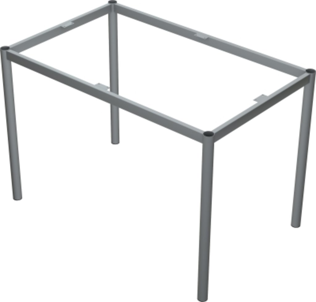 Столы для ресторана, бара, кафе, столовых.: Стол прямоугольник 120х80, подстолья № 8 прямоугольник серая в АРТ-МЕБЕЛЬ НН