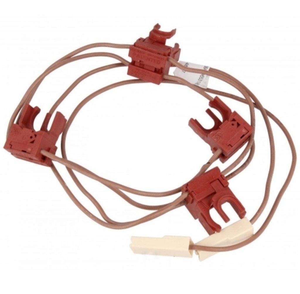 Запчасти для плит и духовых шкафов: Контактная группа (под ручку) для электроподжига в АНС ПРОЕКТ, ООО, Сервисный центр