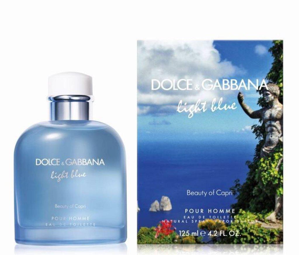 Dolce&Gabbana (Дольче и Габбана): Dolce & Gabbana Light Blue Beauty of Capri Pour Homme (Дольче Габана Лайт блю Бьюти оф Капри Пур Ом) edt 100ml в Мой флакон