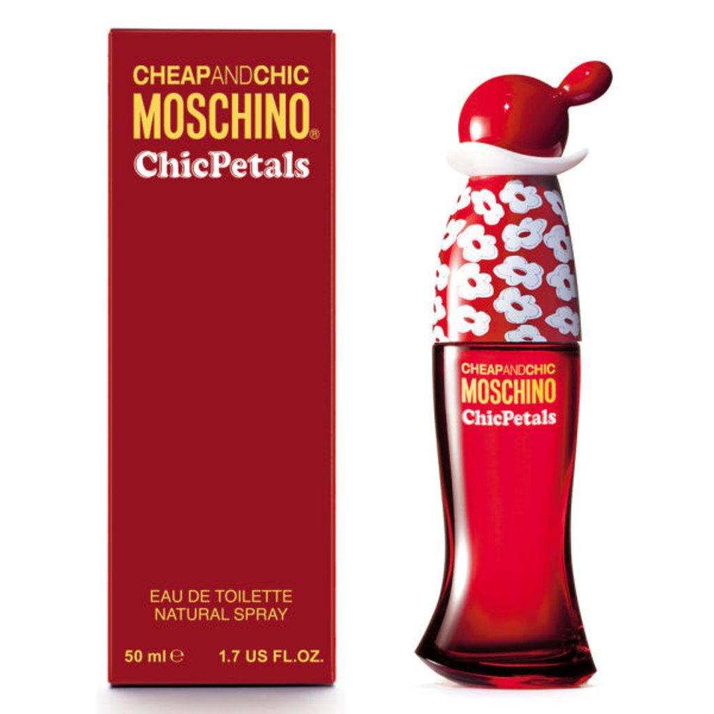 Женская туалетная вода Moschino: Туалетная вода Moschino Chic Petals edt ж 30   50 ml в Элит-парфюм