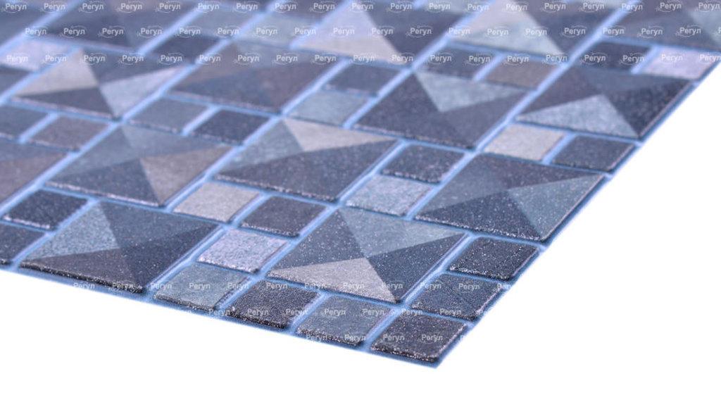 Панели ПВХ: Мозаика Сахара серебро в Мир Потолков