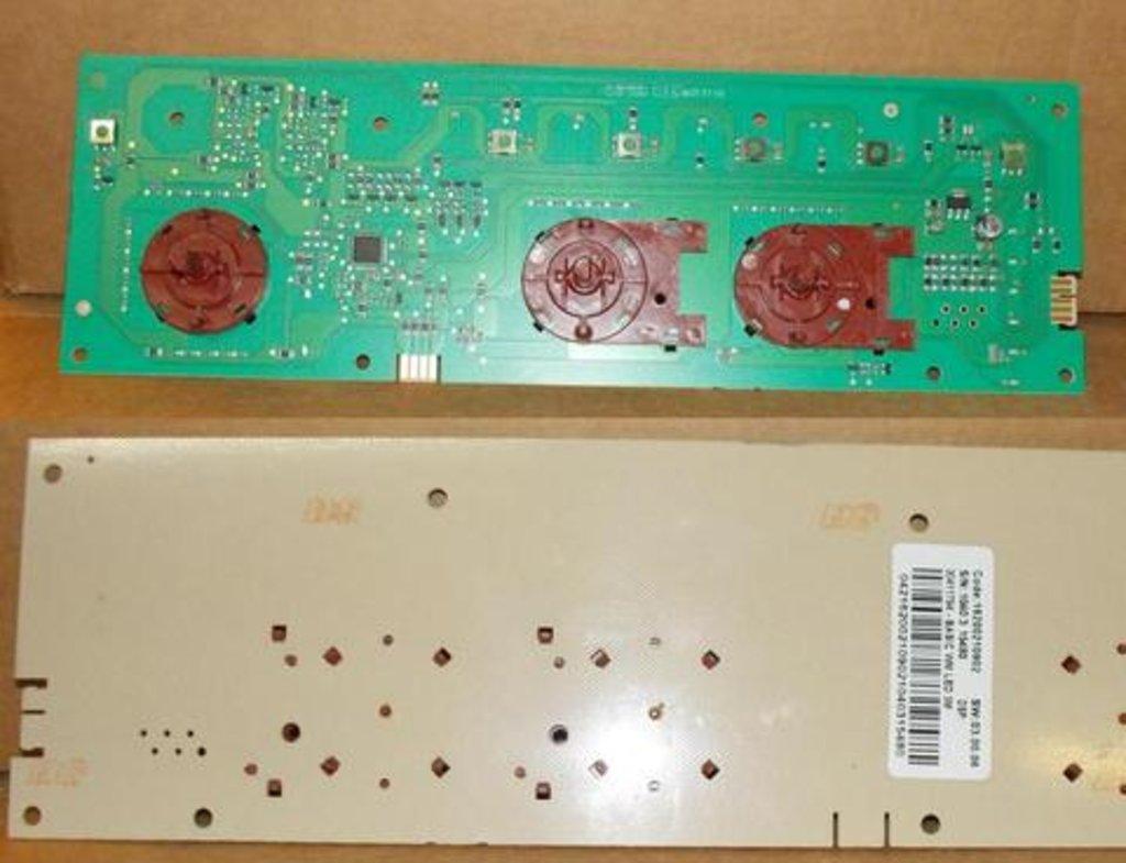 Электронные блоки управления: Электронный модуль индикации для стиральной машины Indesit (Индезит) C00270604, 270604, 294259, 305980, 283372 в АНС ПРОЕКТ, ООО, Сервисный центр