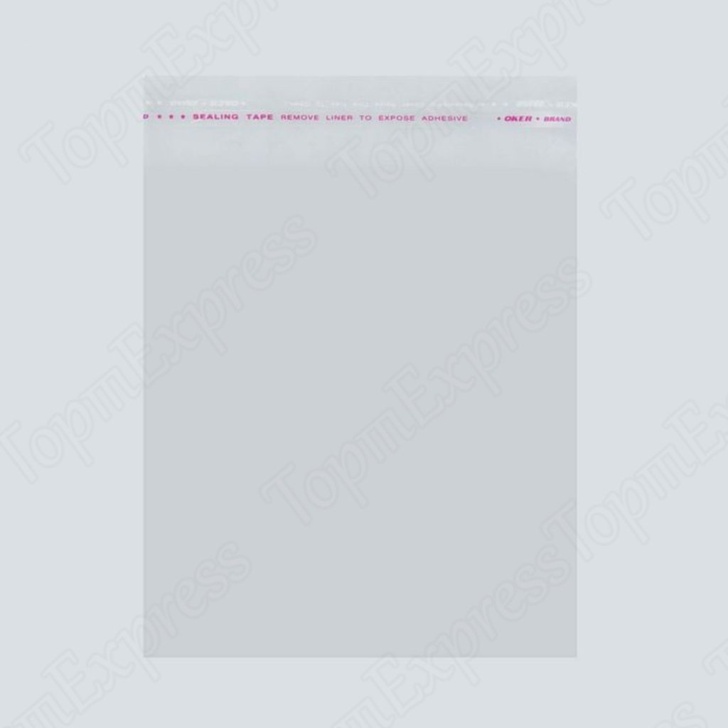 Пакеты: Пакет с липкой лентой БОПП 10 х 15 см 100шт в ТортExpress