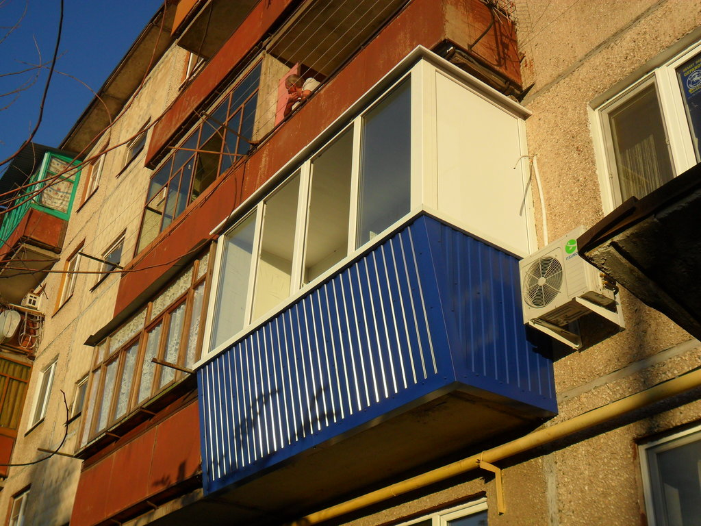 Устройство балконов, лоджий: Евробалкон в Балкон-Уют