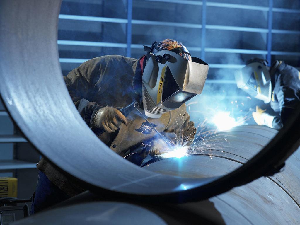 Обработка металла: Дуговая сварка в ЖБИ и К