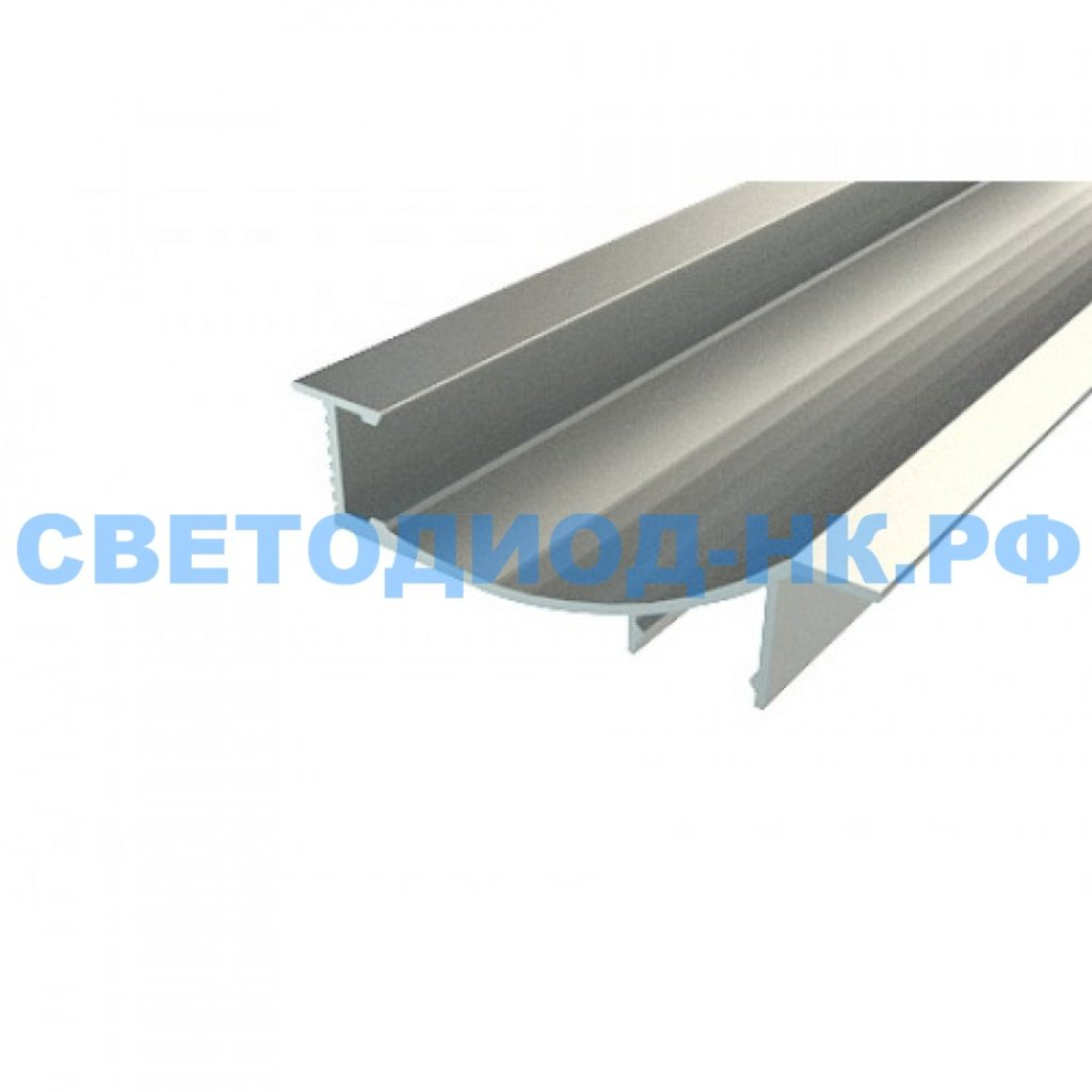 Алюминиевый профиль: REXANT профиль встраиваемый декоративный алюминиевый 1670-2 2 м, 146-242 в СВЕТОВОД