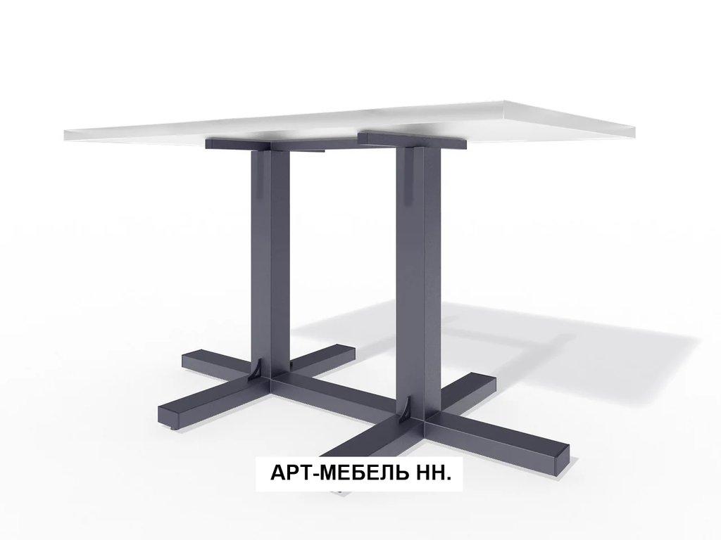 Подстолья для столов.: Подстолье 00.9 (чёрный) в АРТ-МЕБЕЛЬ НН