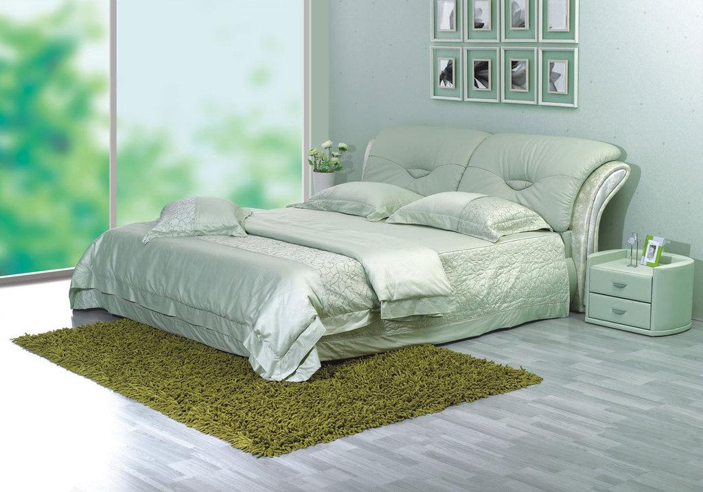 """Кровати: Кровать двуспальная """"Мэнта"""" в Амадео"""