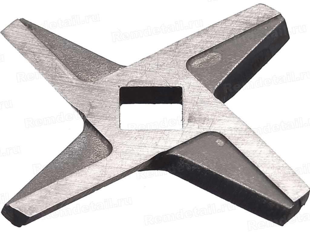 Запчасти для электромясорубок: Нож D=51, h=3.3, квадрат =8, 2-х сторонний для мясорубки, MRZ011 в АНС ПРОЕКТ, ООО, Сервисный центр